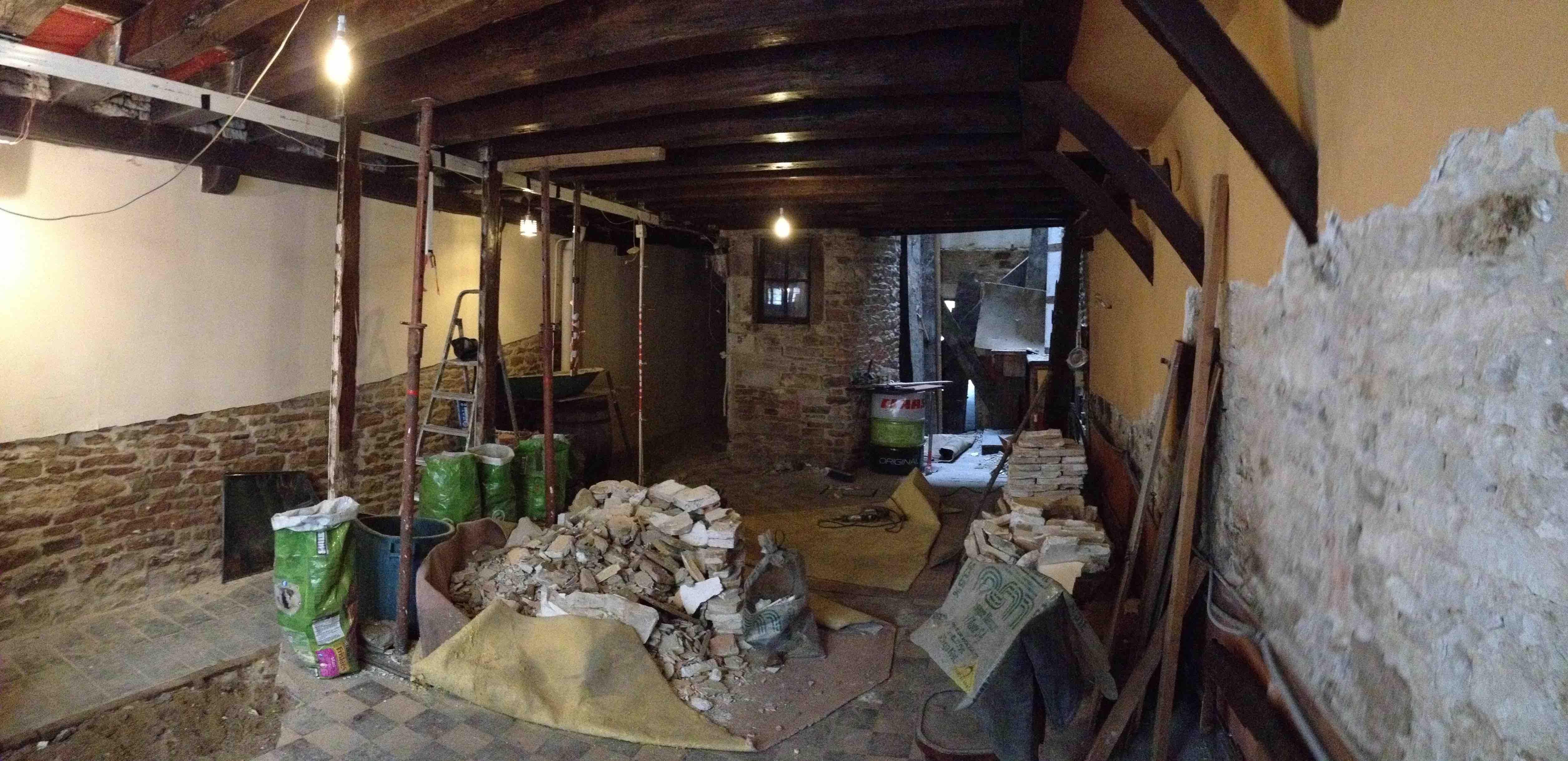 Ons nieuwe huis in het centrum van tournus, zuid bourgogne   krek ...