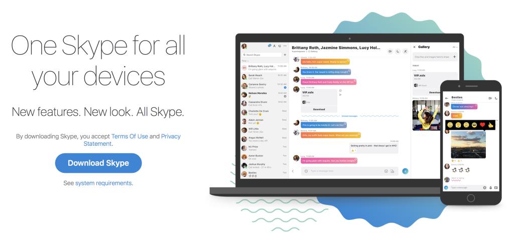 new skype sucks - change back to Skype 7
